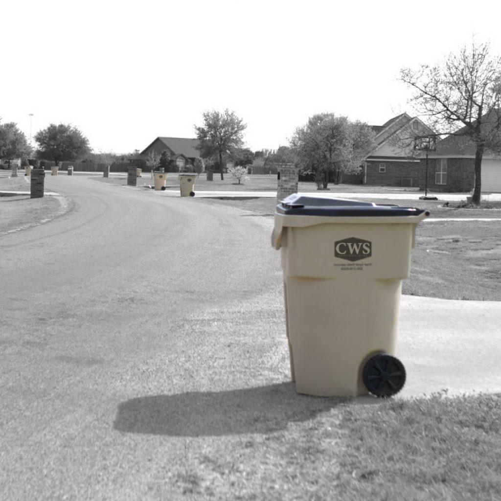 garbage pickup service near Abilene, TX