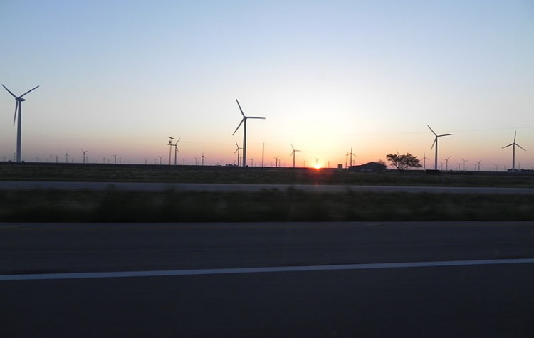 waste management wind farms texas
